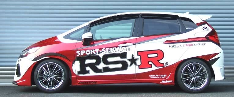 Honda GK5 Tuning by RS-R Japan 1