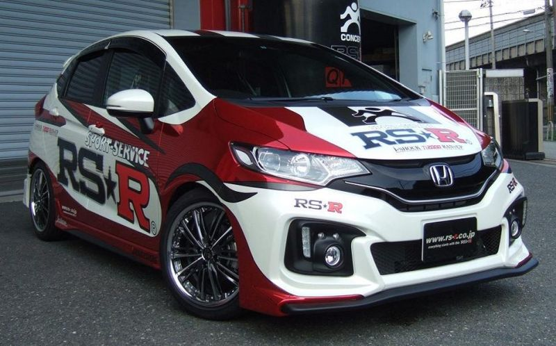 Honda GK5 Tuning by RS-R Japan 2