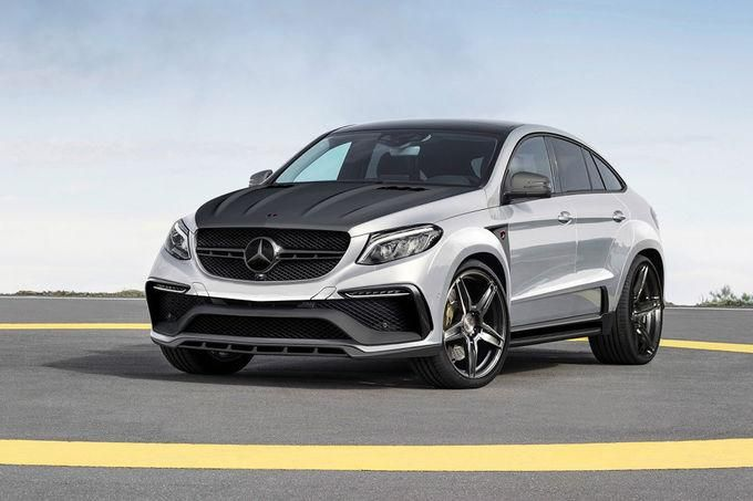 Inferno Mercedes Benz GLE Coupe Tuning TopCar 1 Mercedes Benz GLE Coupe Inferno vom Tuner TopCar