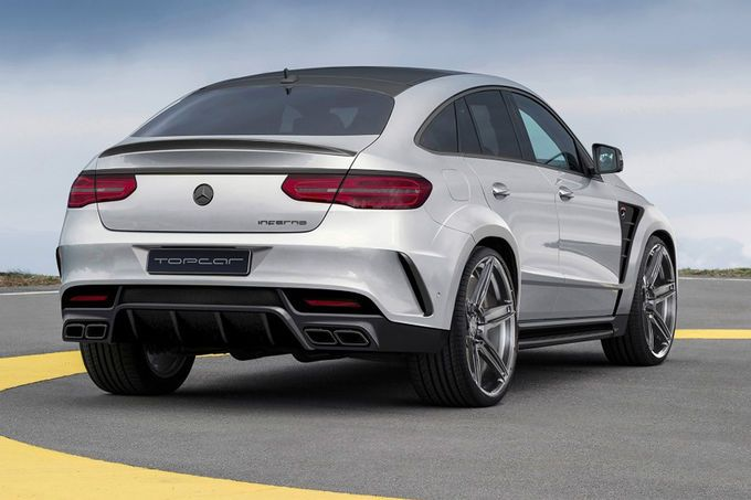 Inferno Mercedes-Benz GLE Coupe Tuning TopCar 3