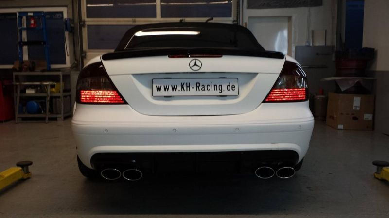 KH Racing Mercedes CLK Cabrio mbDesign Alufelgen 1 Hat was   KH Racing Mercedes CLK Cabrio auf mbDesign Alu's