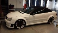 KH Racing Mercedes CLK Cabrio mbDesign Alufelgen 2 190x107 Hat was   KH Racing Mercedes CLK Cabrio auf mbDesign Alu's