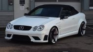 KH Racing Mercedes CLK Cabrio mbDesign KV1 Tuning 1 190x107 Hat was   KH Racing Mercedes CLK Cabrio auf mbDesign Alu's
