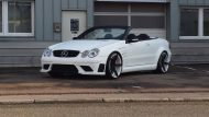 KH Racing Mercedes CLK Cabrio mbDesign KV1 Tuning 10 190x107 Hat was   KH Racing Mercedes CLK Cabrio auf mbDesign Alu's