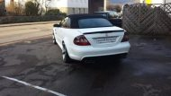 KH Racing Mercedes CLK Cabrio mbDesign KV1 Tuning 6 190x107 Hat was   KH Racing Mercedes CLK Cabrio auf mbDesign Alu's
