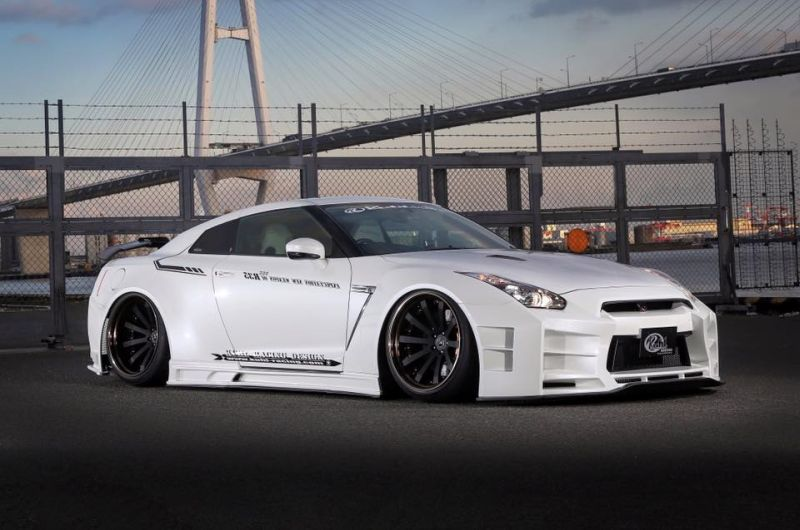 Kuhl racing Nissan GT R Widebody R35 Tuning 1 Auch in Weiß   Kuhl racing Nissan GT R Widebody