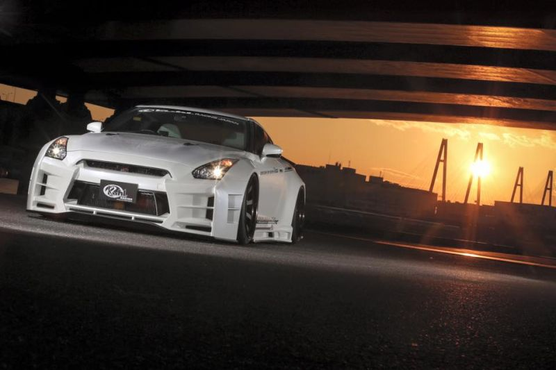 Kuhl racing Nissan GT R Widebody R35 Tuning 6 Auch in Weiß   Kuhl racing Nissan GT R Widebody