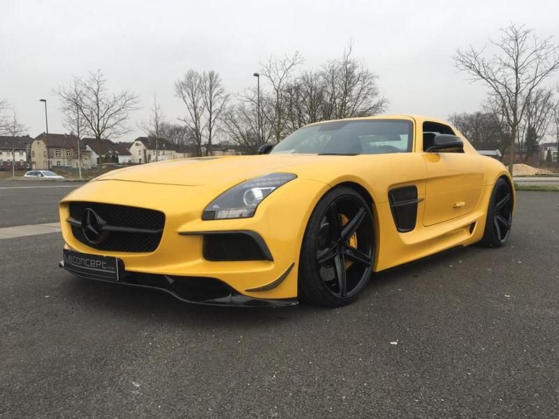 ML Concept Mercedes Benz SLS AMG Black Series Optik Tuning 13 Auffällig   ML Concept Mercedes Benz SLS AMG