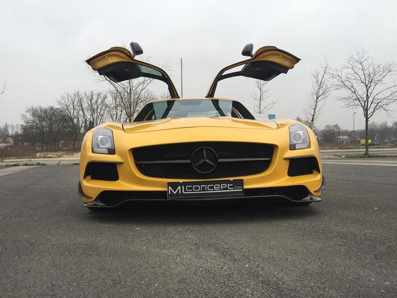 ML Concept Mercedes Benz SLS AMG Black Series Optik Tuning 14 Auffällig   ML Concept Mercedes Benz SLS AMG