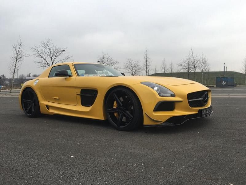ML Concept Mercedes Benz SLS AMG Black Series Optik Tuning 2 Auffällig   ML Concept Mercedes Benz SLS AMG