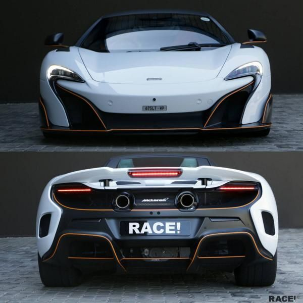 Mclaren 675LT Tuning RACE South Africa 2 Dezent   Mclaren 675LT vom Tuner RACE! South Africa