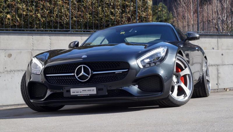 Mercedes AMG GT S HRE RS105 by Cartech.ch KW Federn 1 Mercedes AMG GT S auf HRE RS105 by Cartech