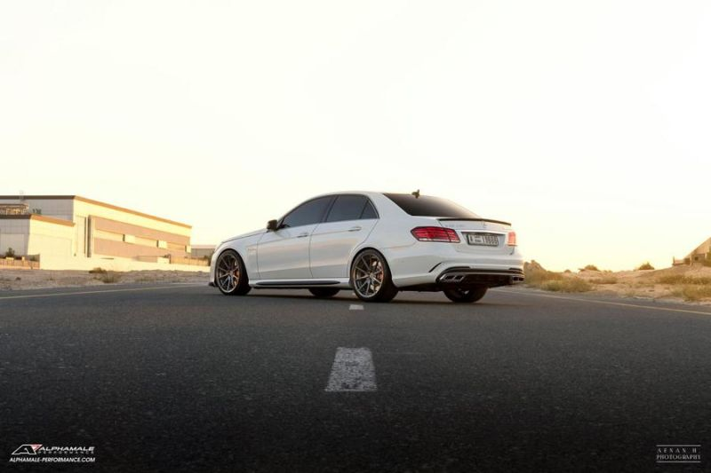 Mercedes Benz E63 AMG Alphamale Performance AMP 5S 1 Edel   Mercedes Benz E63 AMG by Alphamale Performance