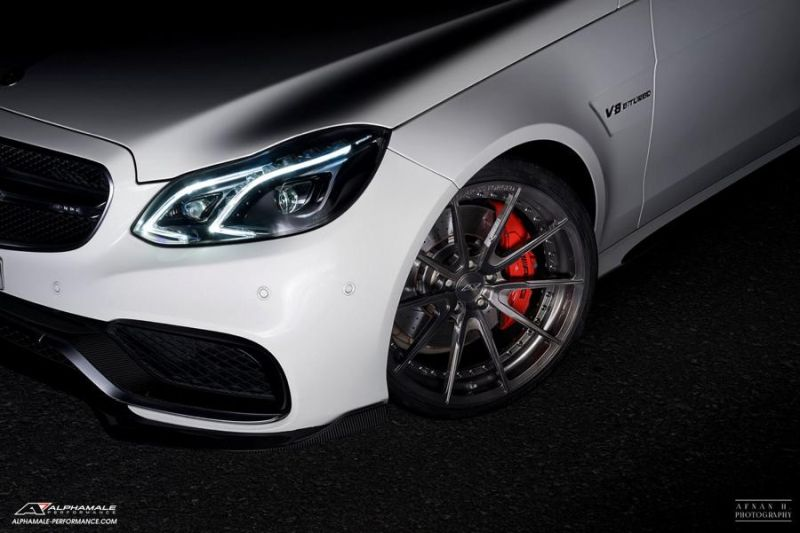 Mercedes Benz E63 AMG Alphamale Performance AMP 5S 5 Edel   Mercedes Benz E63 AMG by Alphamale Performance