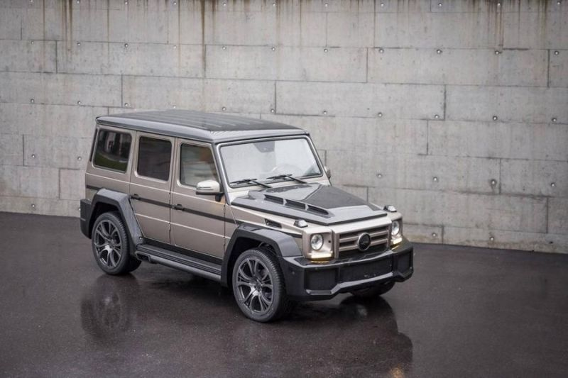 Mercedes Benz G Klasse SHAHIN Bi Color Edition 1 Mercedes Benz G Klasse SHAHIN Bi Color Edition