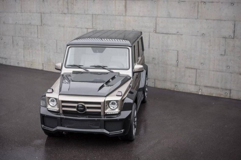 Mercedes Benz G Klasse SHAHIN Bi Color Edition 2 Mercedes Benz G Klasse SHAHIN Bi Color Edition