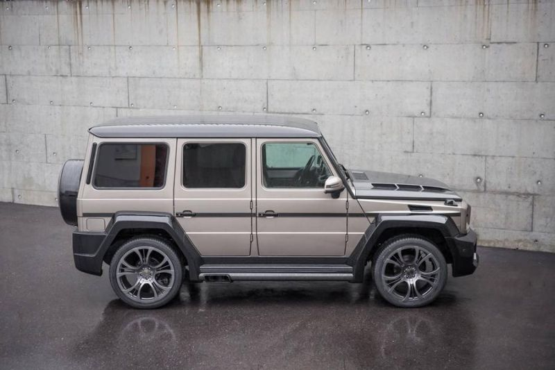 Mercedes Benz G Klasse SHAHIN Bi Color Edition 3 Mercedes Benz G Klasse SHAHIN Bi Color Edition