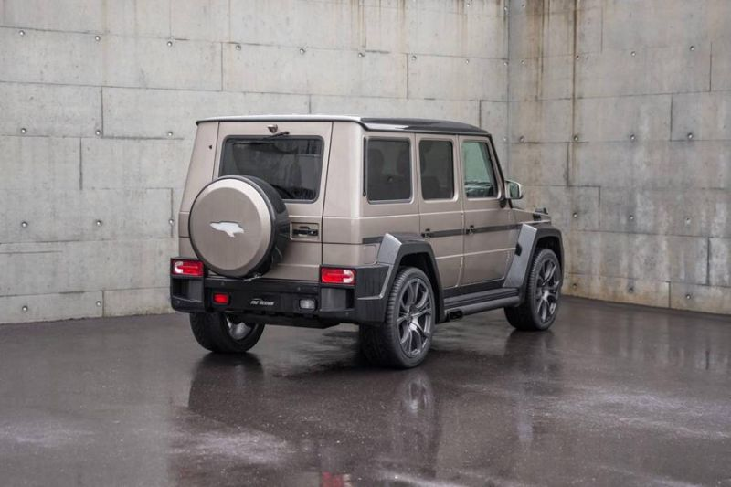 Mercedes Benz G Klasse SHAHIN Bi Color Edition 5 Mercedes Benz G Klasse SHAHIN Bi Color Edition