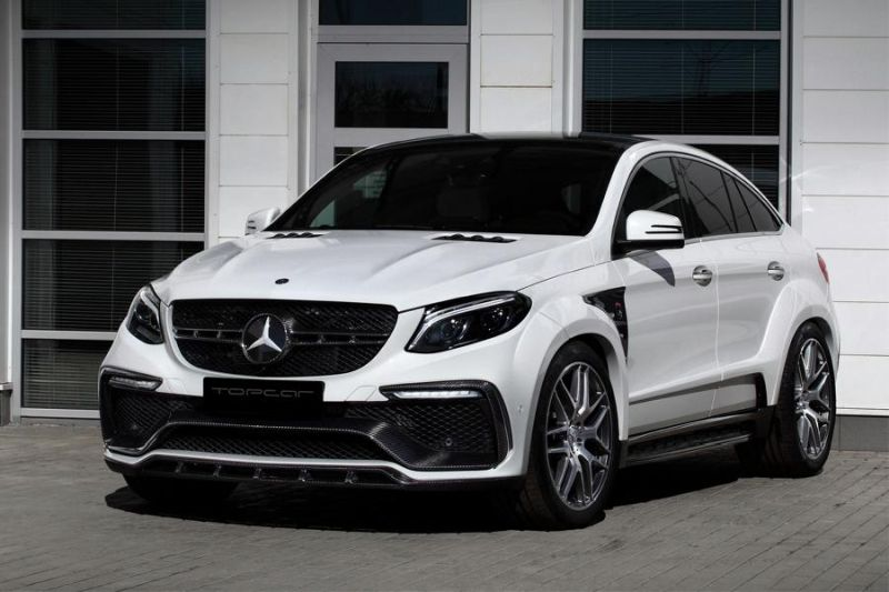 Mercedes-Benz GLE 63AMG Coupe Inferno Tuning TopCar 1