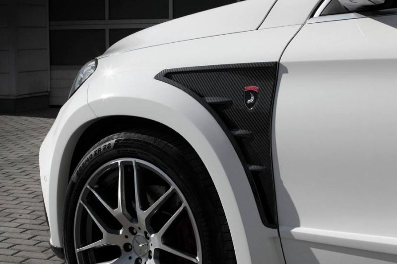 Mercedes-Benz GLE 63AMG Coupe Inferno Tuning TopCar 12