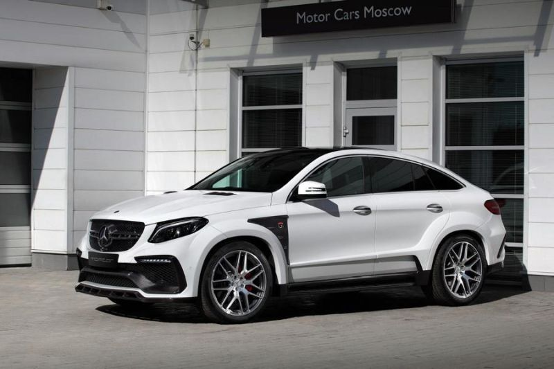 Mercedes-Benz GLE 63AMG Coupe Inferno Tuning TopCar 2