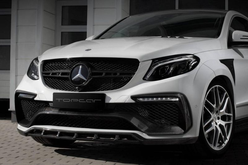 Mercedes-Benz GLE 63AMG Coupe Inferno Tuning TopCar 9