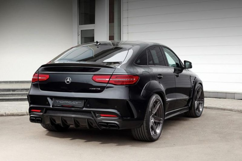Mercedes-Benz GLE Coupe Inferno Tuner TopCar 6