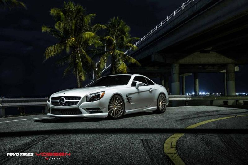 Mercedes-Benz SL R231 Vossen Wheels VFS2 Tuning 1