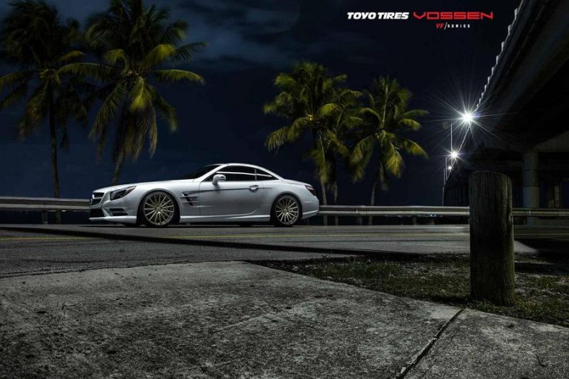 Mercedes-Benz SL R231 Vossen Wheels VFS2 Tuning 2