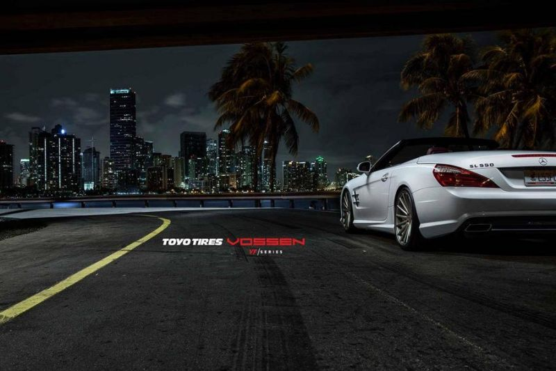 Mercedes-Benz SL R231 Vossen Wheels VFS2 Tuning 3