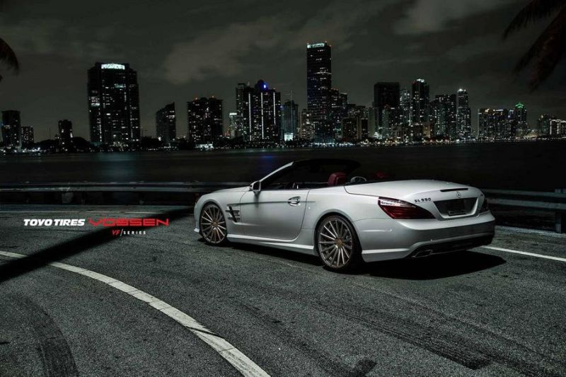 Mercedes-Benz SL R231 Vossen Wheels VFS2 Tuning 4