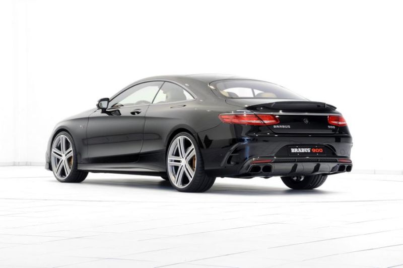 Mercedes Brabus Rocket 900 Coupe C217 Tuning 9 1 Mercedes Brabus Rocket 900 jetzt auch als Coupe