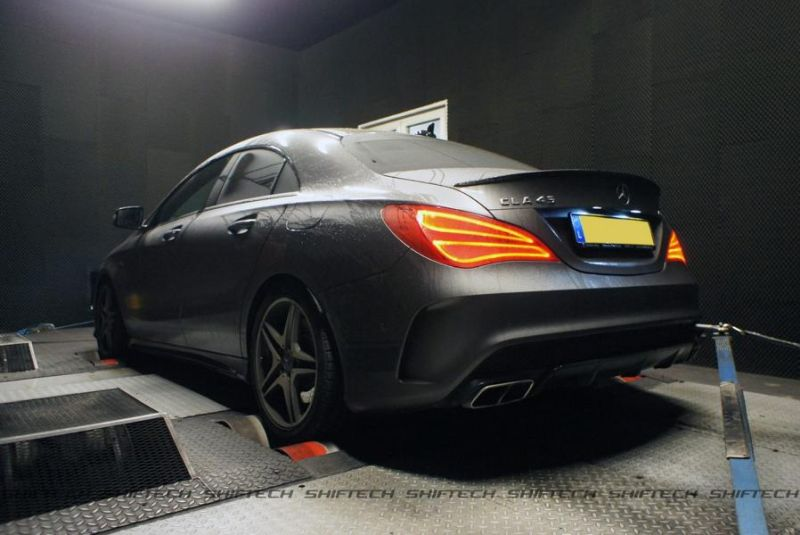 Mercedes CLA 45 AMG Chiptuning 400PS Shiftech Luxembourg 1 Mercedes CLA 45 AMG mit 400PS by Shiftech Luxembourg