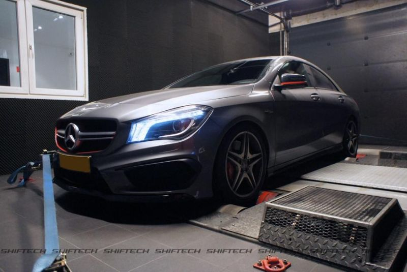 Mercedes CLA 45 AMG Chiptuning 400PS Shiftech Luxembourg 3 Mercedes CLA 45 AMG mit 400PS by Shiftech Luxembourg