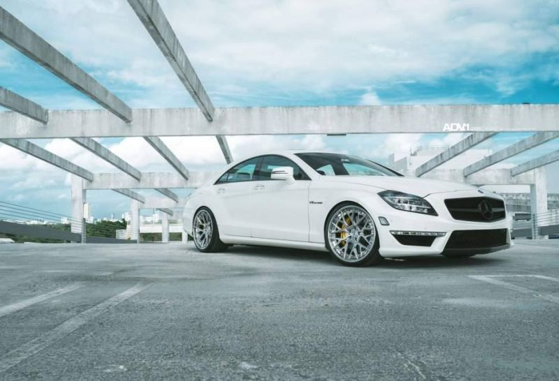 Mercedes CLS63 AMG ADV.1 Wheels ADV10.0 Tuning 4