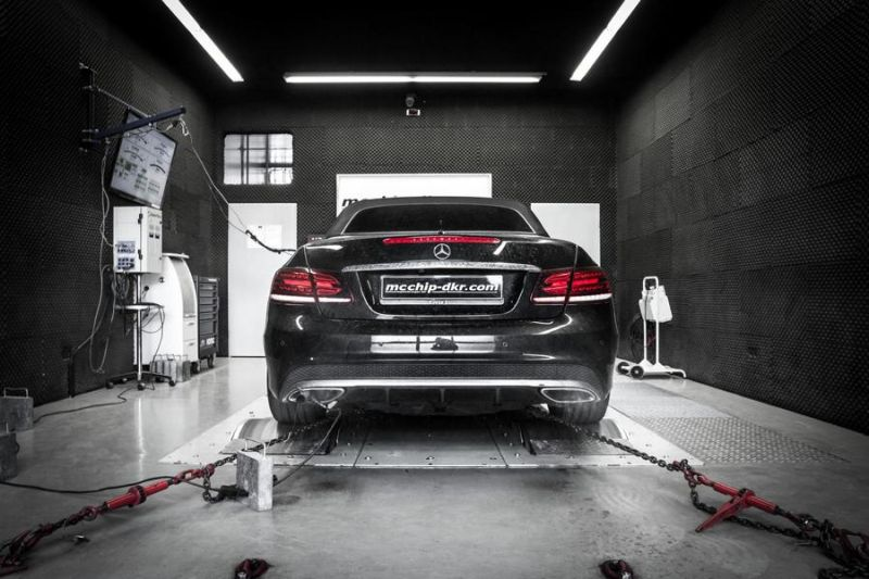Mercedes E500 V8 497PS Chiptuning Mcchip-DKR SoftwarePerformance 3