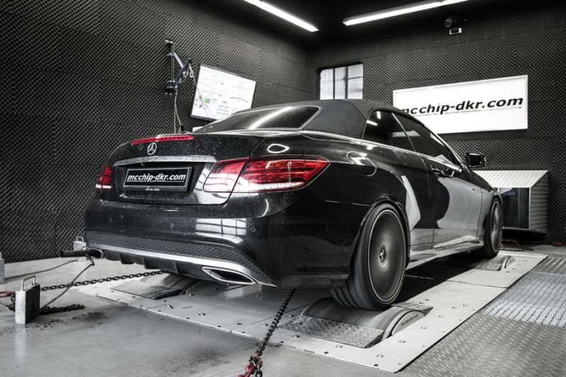Mercedes E500 V8 497PS Chiptuning Mcchip-DKR SoftwarePerformance 4
