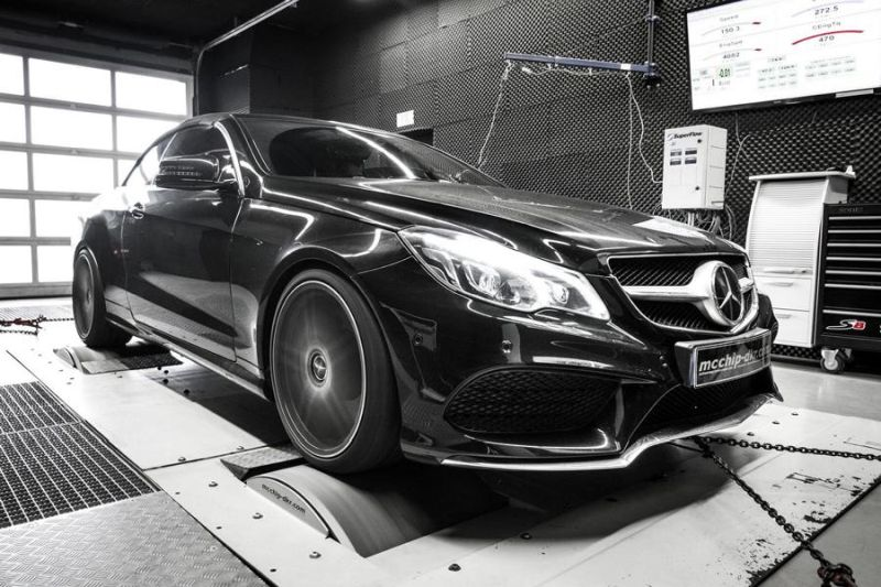 Mercedes E500 V8 497PS Chiptuning Mcchip-DKR SoftwarePerformance 5