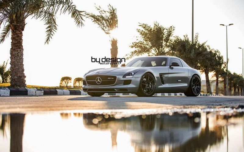 Mercedes SLS AMG ADV.1 Wheels ByDesign Motorsport 1