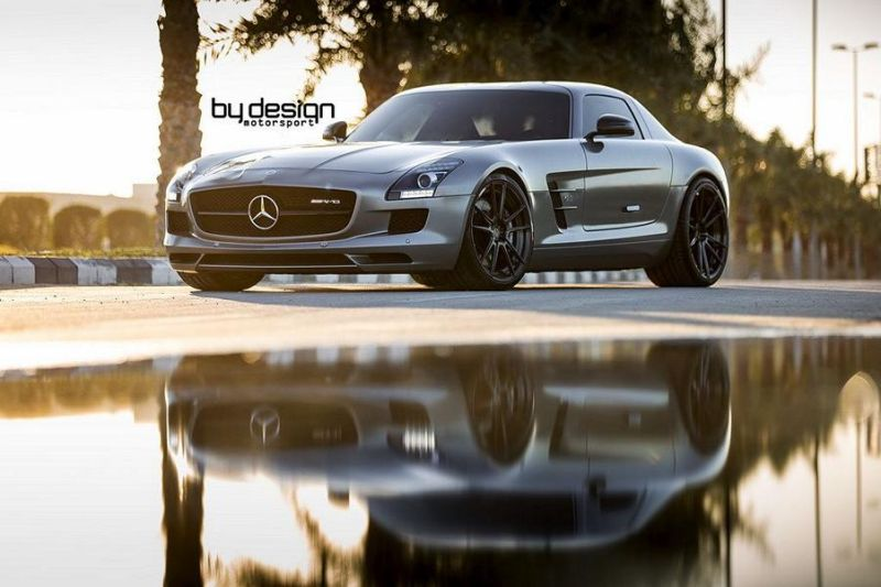 Mercedes SLS AMG ADV.1 Wheels ByDesign Motorsport 2