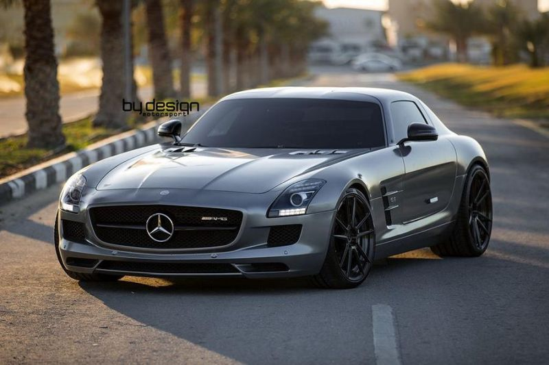 Mercedes SLS AMG ADV.1 Wheels ByDesign Motorsport 3