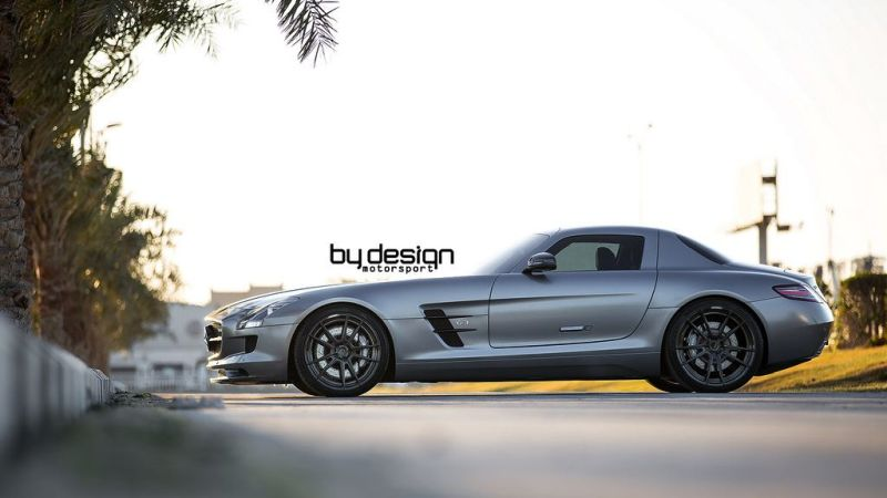 Mercedes SLS AMG ADV.1 Wheels ByDesign Motorsport 4