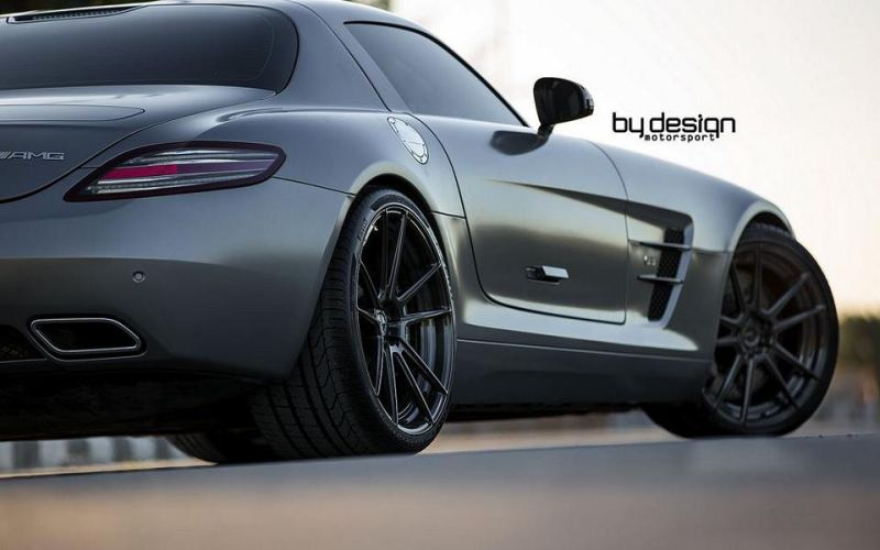 Mercedes SLS AMG ADV.1 Wheels ByDesign Motorsport 5