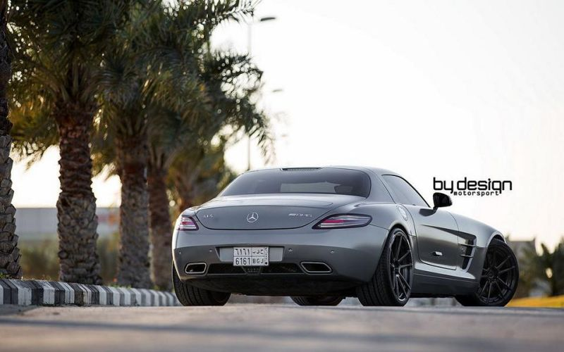 Mercedes SLS AMG ADV.1 Wheels ByDesign Motorsport 6