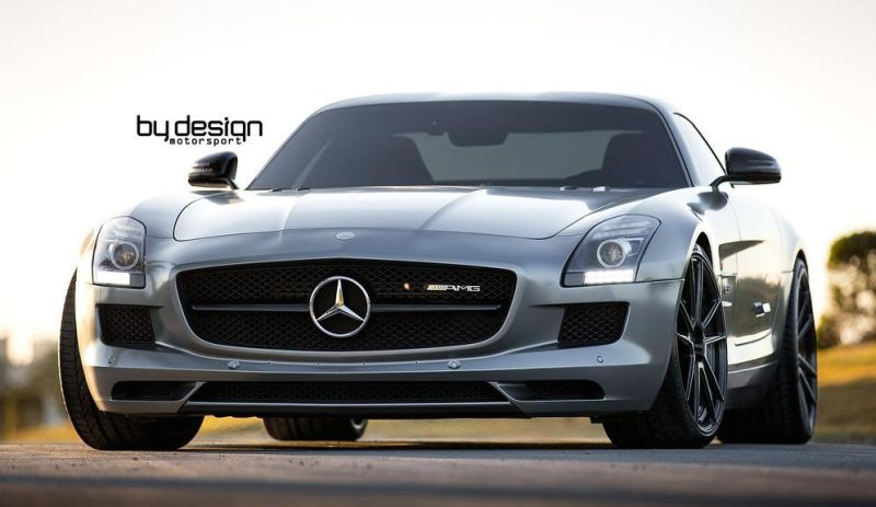 Mercedes SLS AMG ADV.1 Wheels ByDesign Motorsport 7