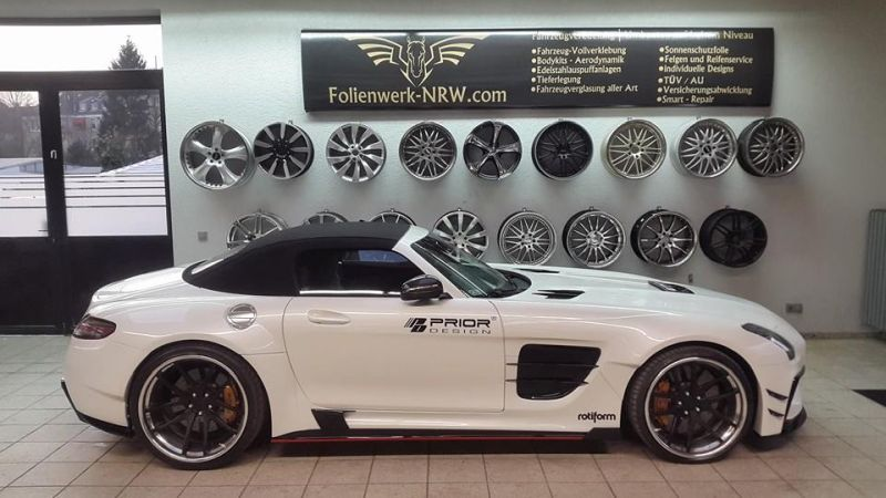 Mercedes SLS AMG PD900GT by Folienwerk-NRW Tuning 7