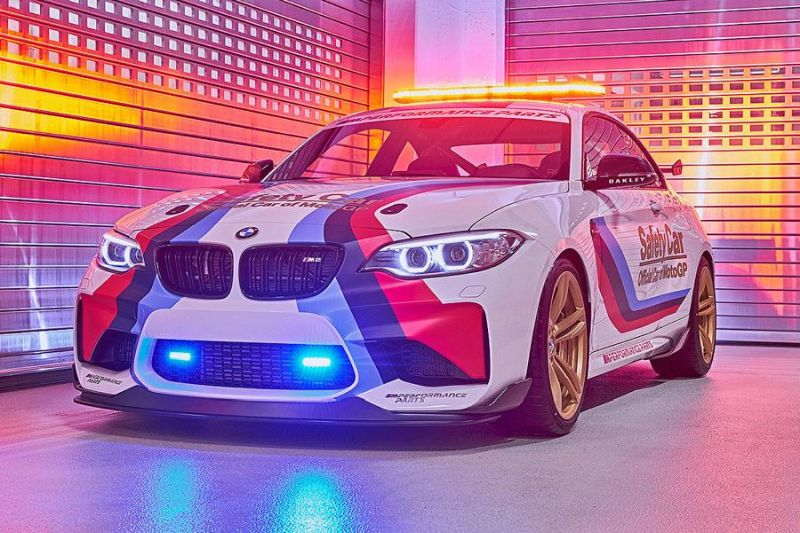 MotoGP 2016 BMW M2 Safety Car F87 Tuning 13 MotoGP 2016   BMW M2 Safety Car mit 370 PS