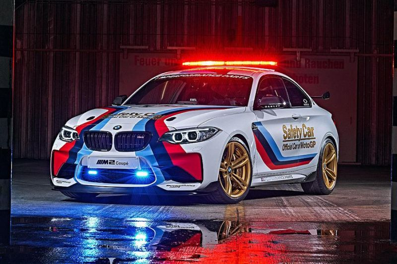 MotoGP 2016 BMW M2 Safety Car F87 Tuning 3 MotoGP 2016   BMW M2 Safety Car mit 370 PS