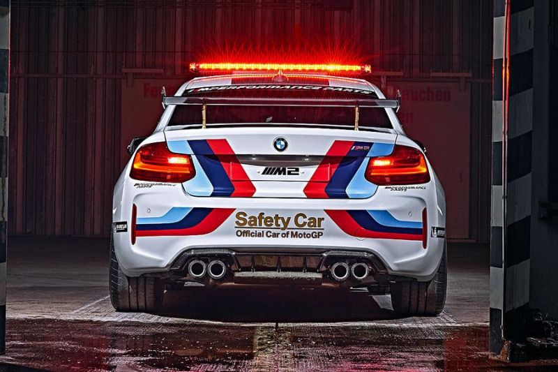 MotoGP 2016 BMW M2 Safety Car F87 Tuning 7 MotoGP 2016   BMW M2 Safety Car mit 370 PS