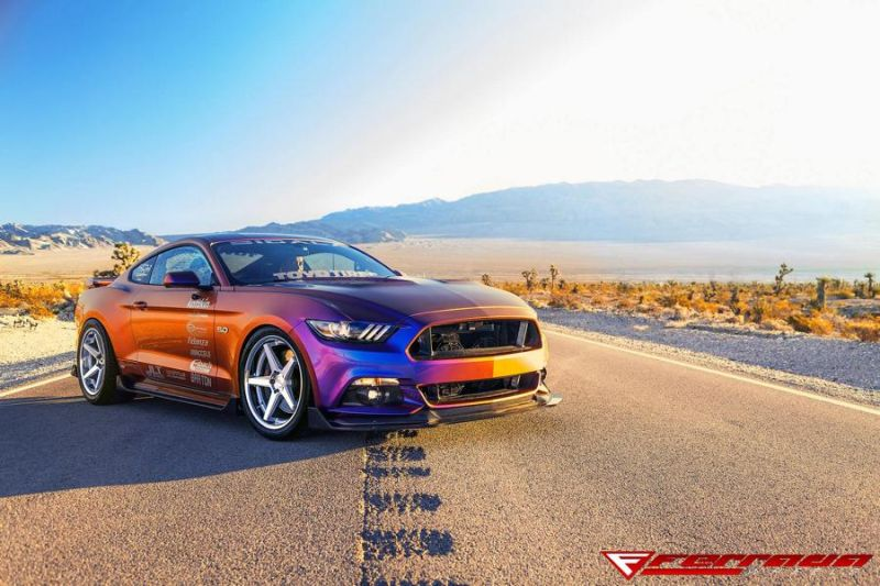 Need4Speed Motorsports Ford Mustang GT S550 Ferrada FR3 Tuning 1 Crazy Optik   Ford Mustang GT S550 by N4SM